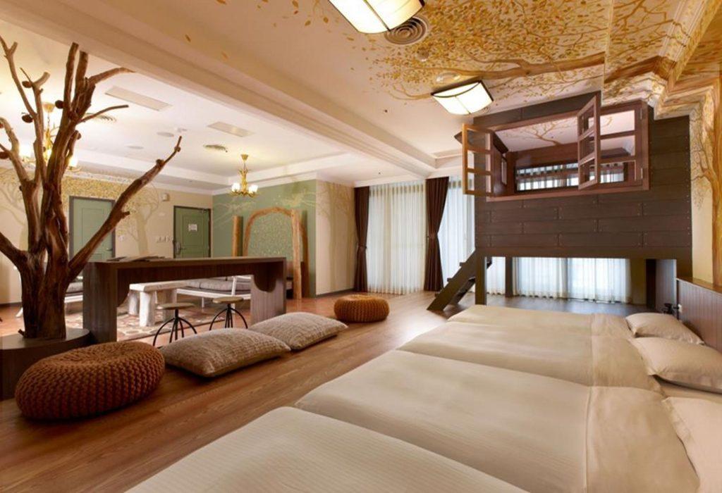 陽明山親子飯店-陽明山天籟渡假酒店-童話森林六人房