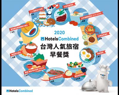【最強旅宿早餐出爐】2020 HotelsCombined台灣人氣旅宿早餐獎,必吃10大夢幻早餐!