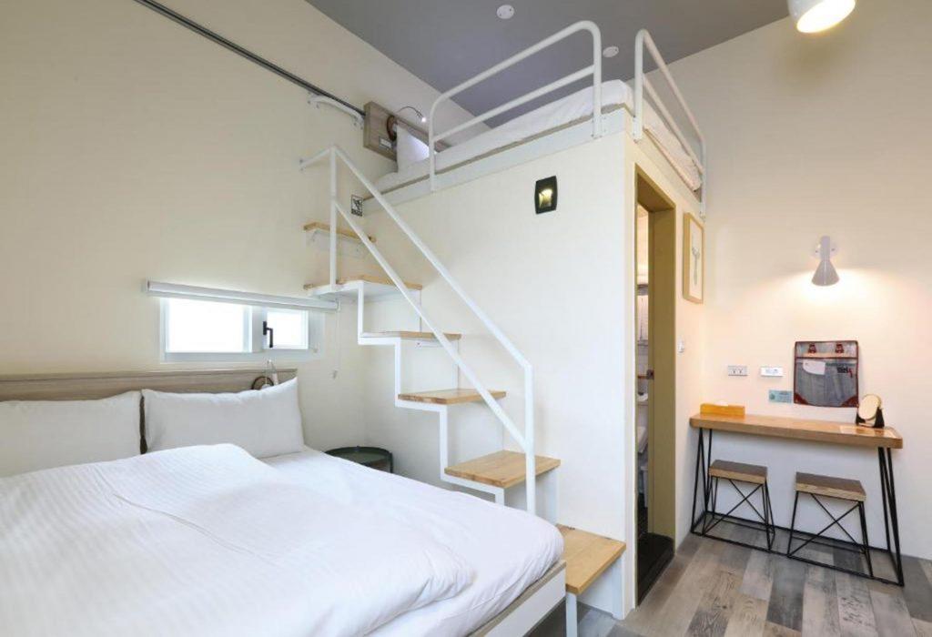 台中住宿4人房 Mini Hotels台中火車站館