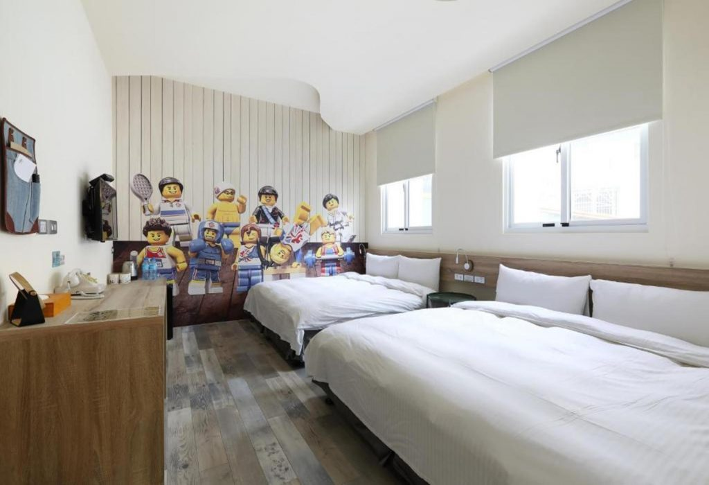 台中親子住宿推薦Mini Hotels台中火車站館