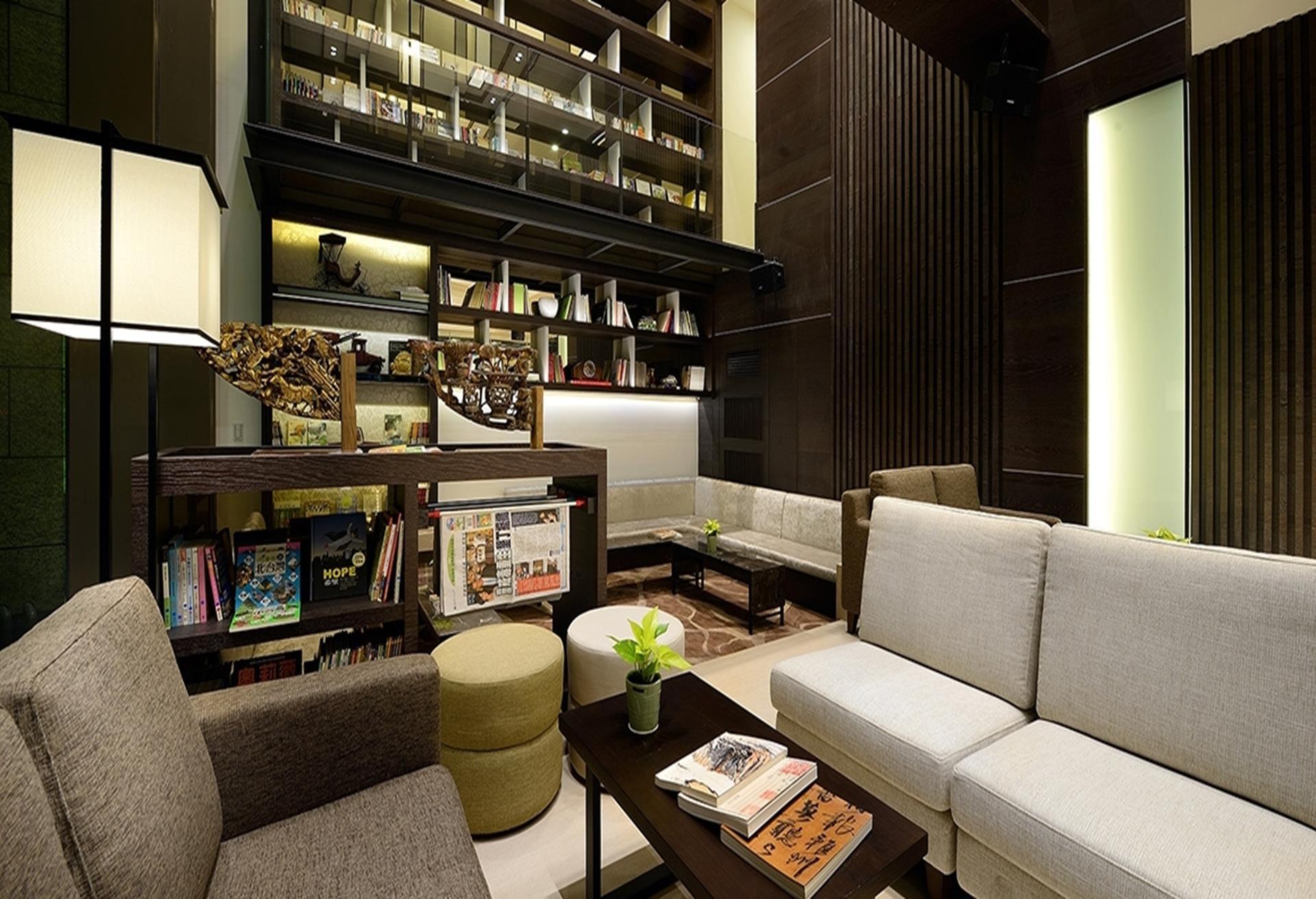 宜蘭礁溪親子飯店 宜蘭悅川酒店 圖書館飯店