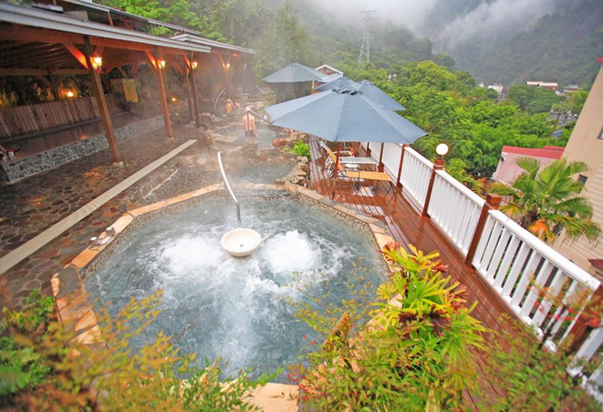 谷關麗池山水渡假村,麗池山水,谷關溫泉住宿