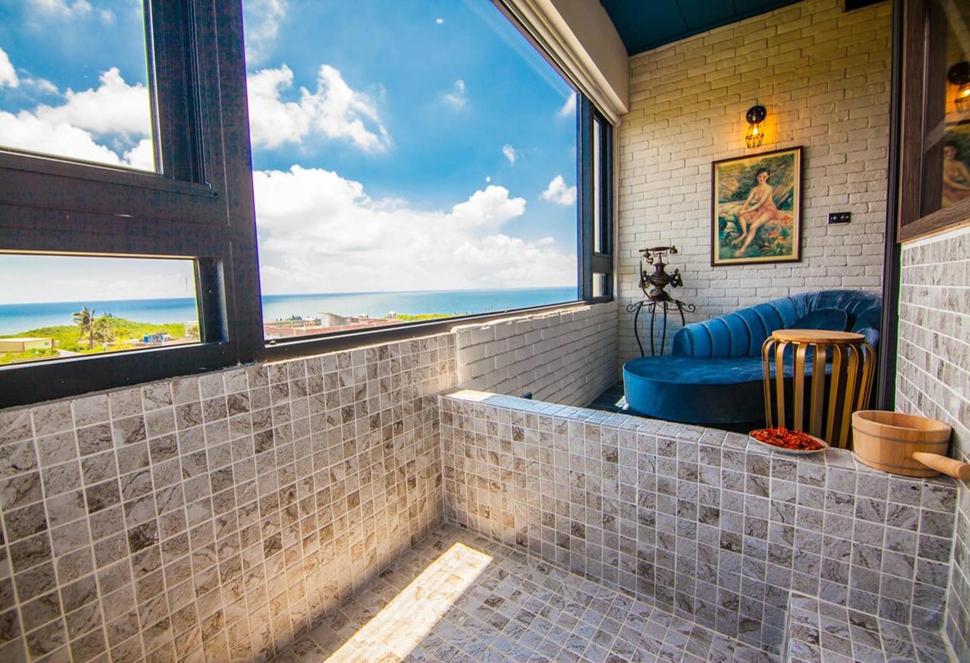 琉球茶室復古館,小琉球海景民宿,小琉球住宿,小琉球 民宿