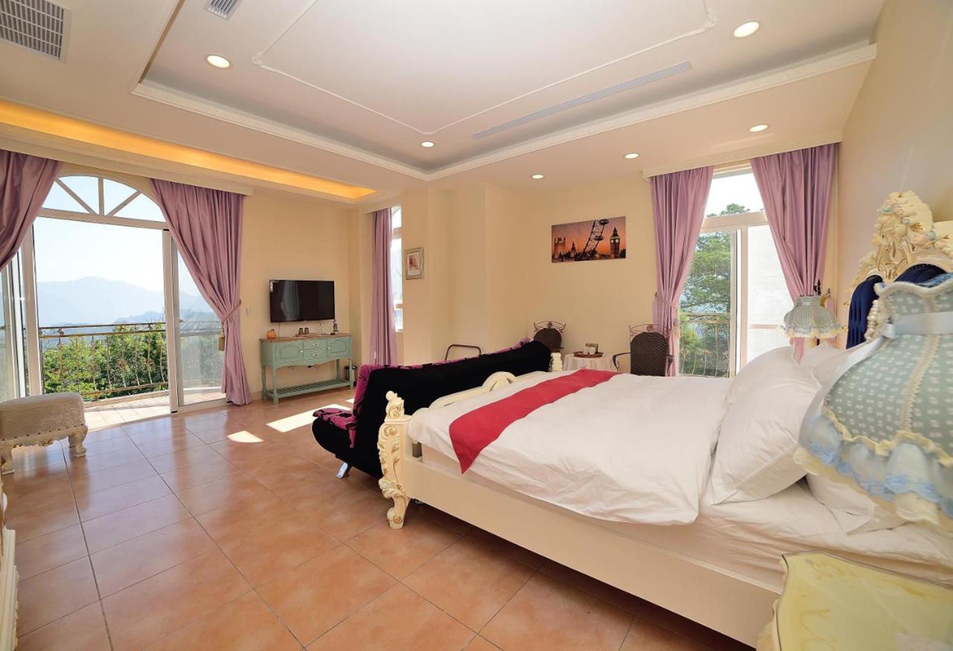 溪頭渡假飯店推薦 - 維多麗亞玫瑰莊園, 倫敦雙人房