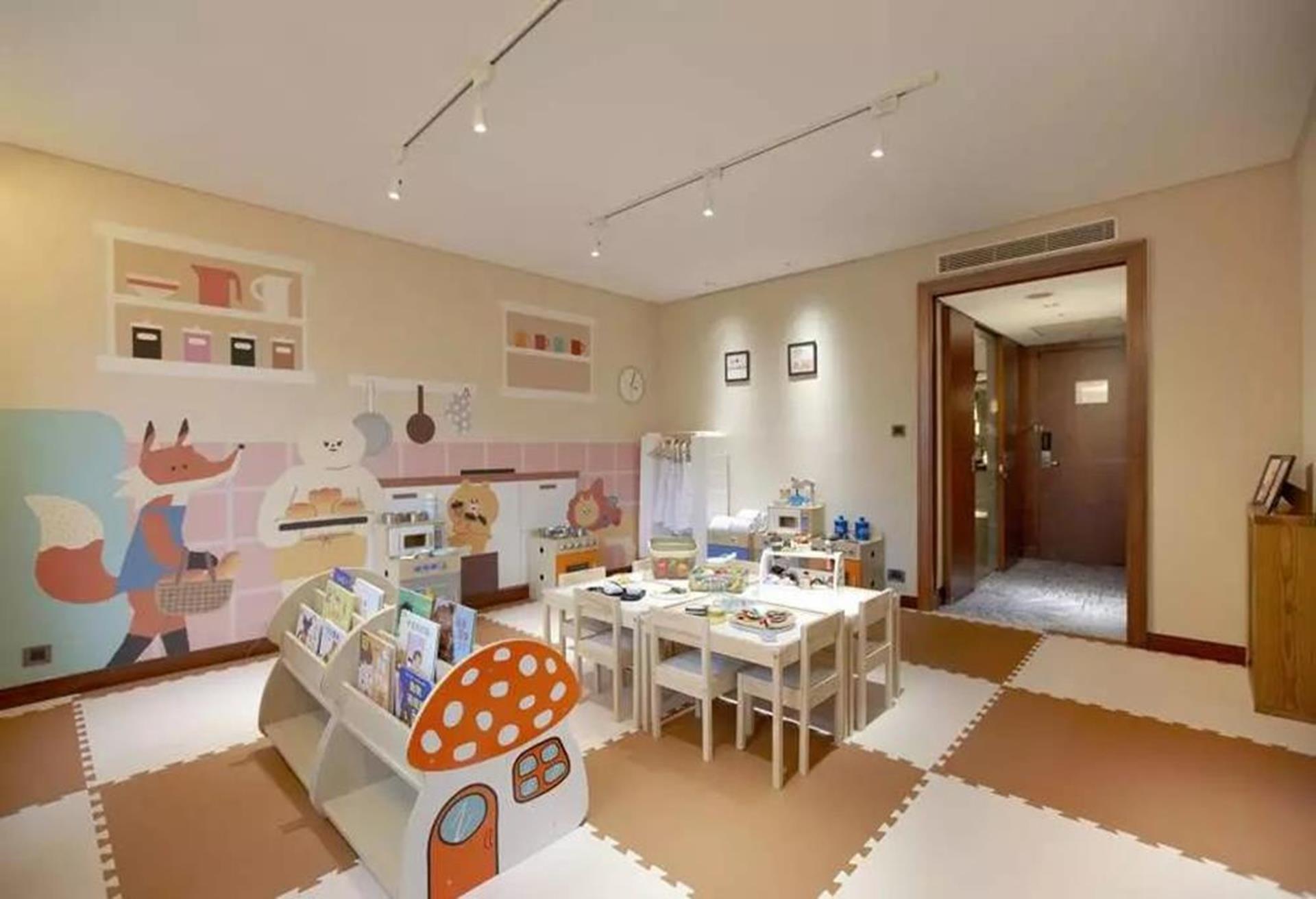台北親子飯店推薦 - 台北喜來登大飯店手拉手樂園的娃娃廚房區