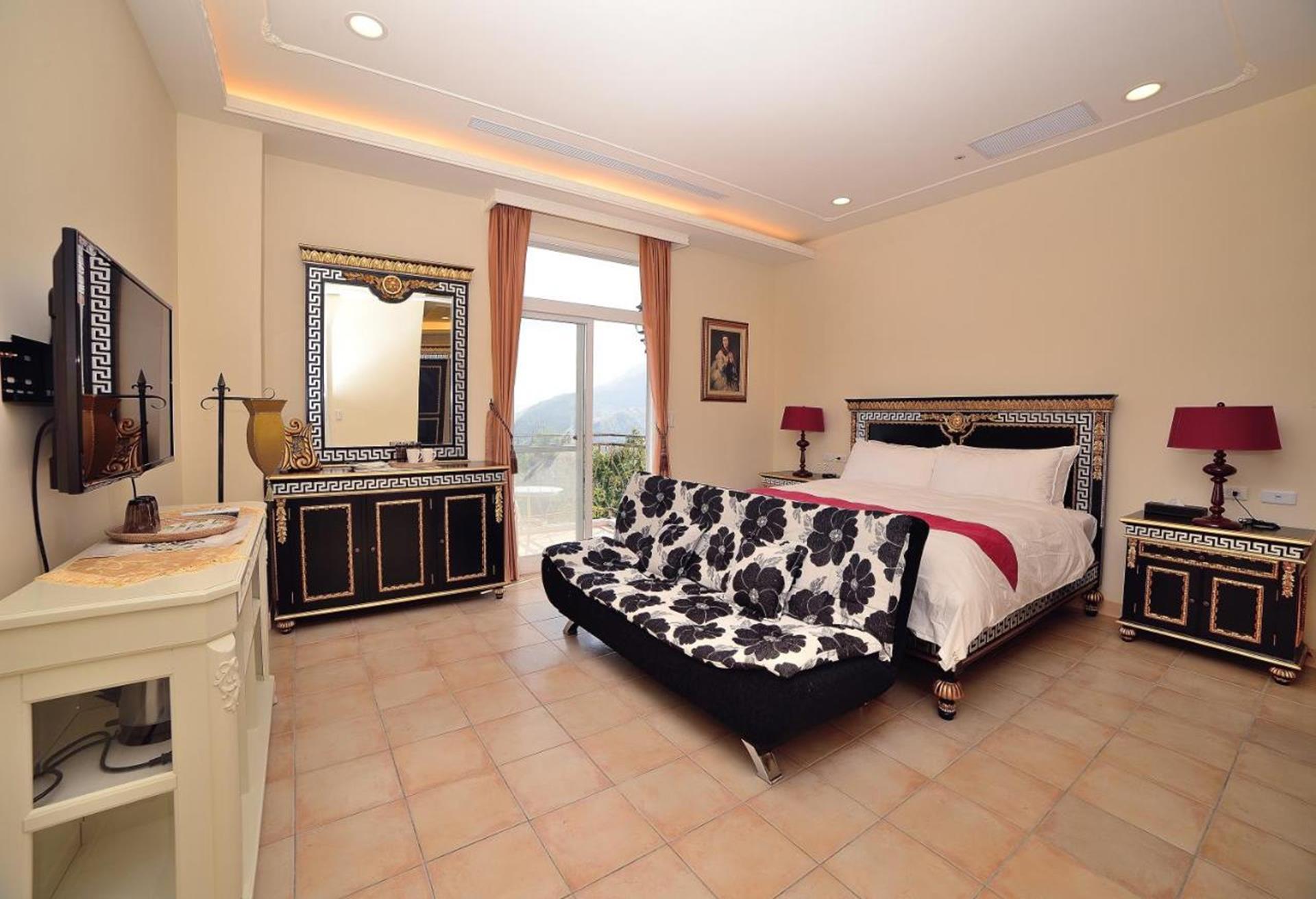 溪頭渡假飯店推薦 - 維多麗亞玫瑰莊園, 巴黎雙人房