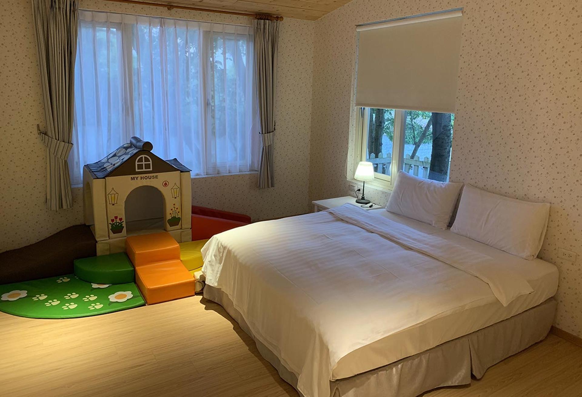 台北親子飯店推薦 - 陽明山美國渡假村歡樂親子園房型