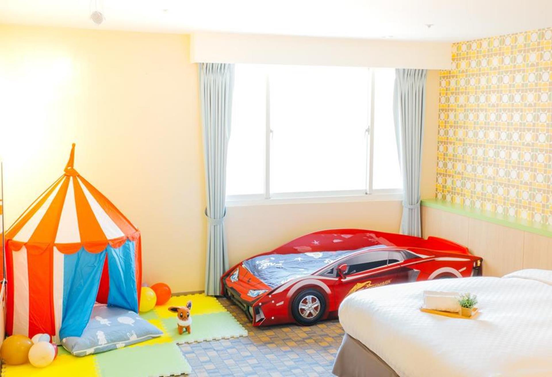 台北親子飯店推薦 - 儷客旅店親子主題房