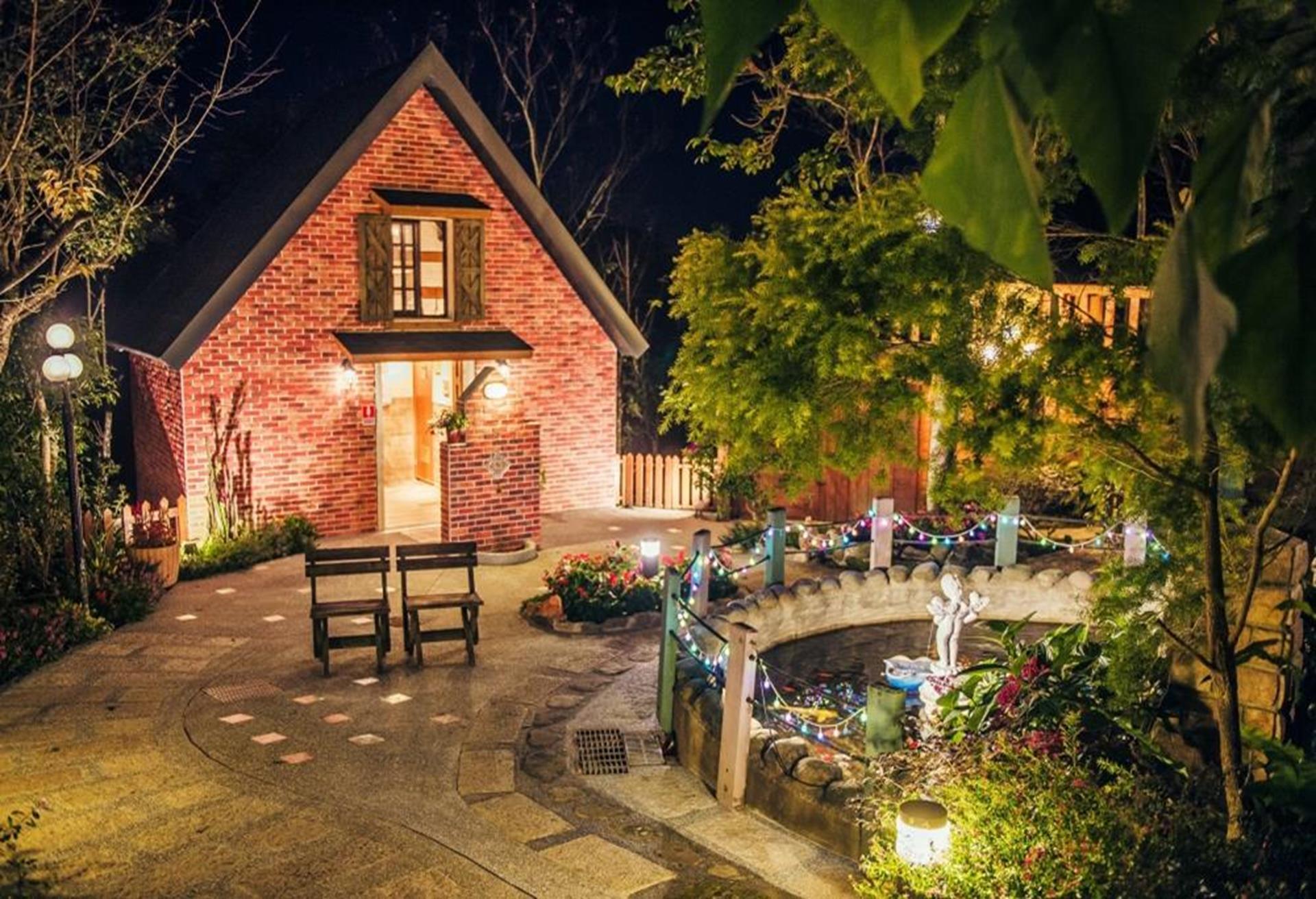 苗栗南庄飯店住宿推薦 - 南庄橄欖樹咖啡民宿處處都是打卡景點